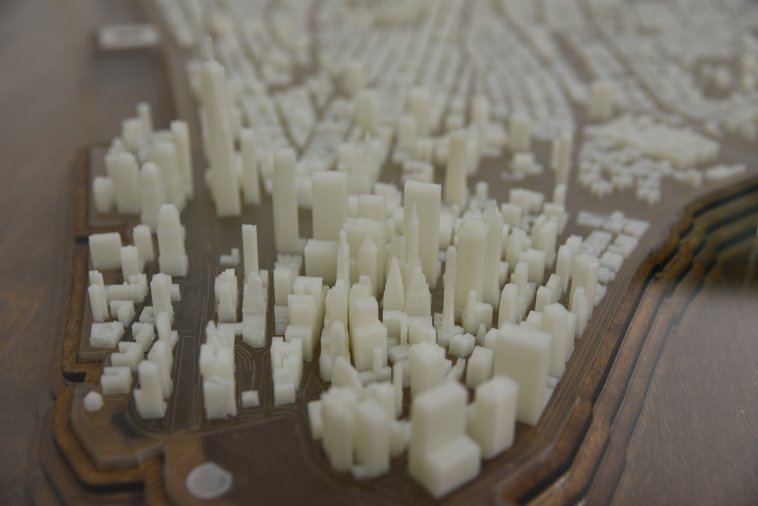 New York City  Troy Huang - New york map in 3d