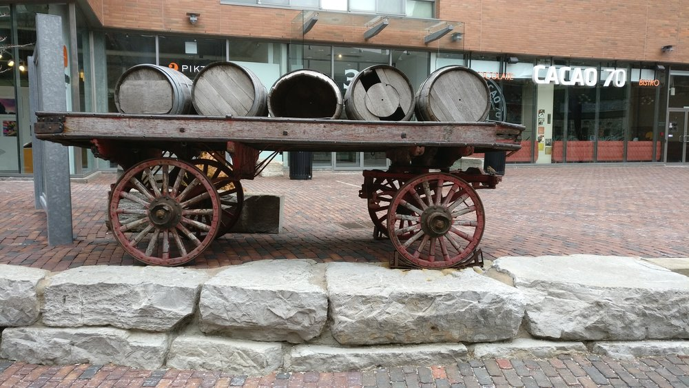 An example of a distillery district artifact that will be brought back to life