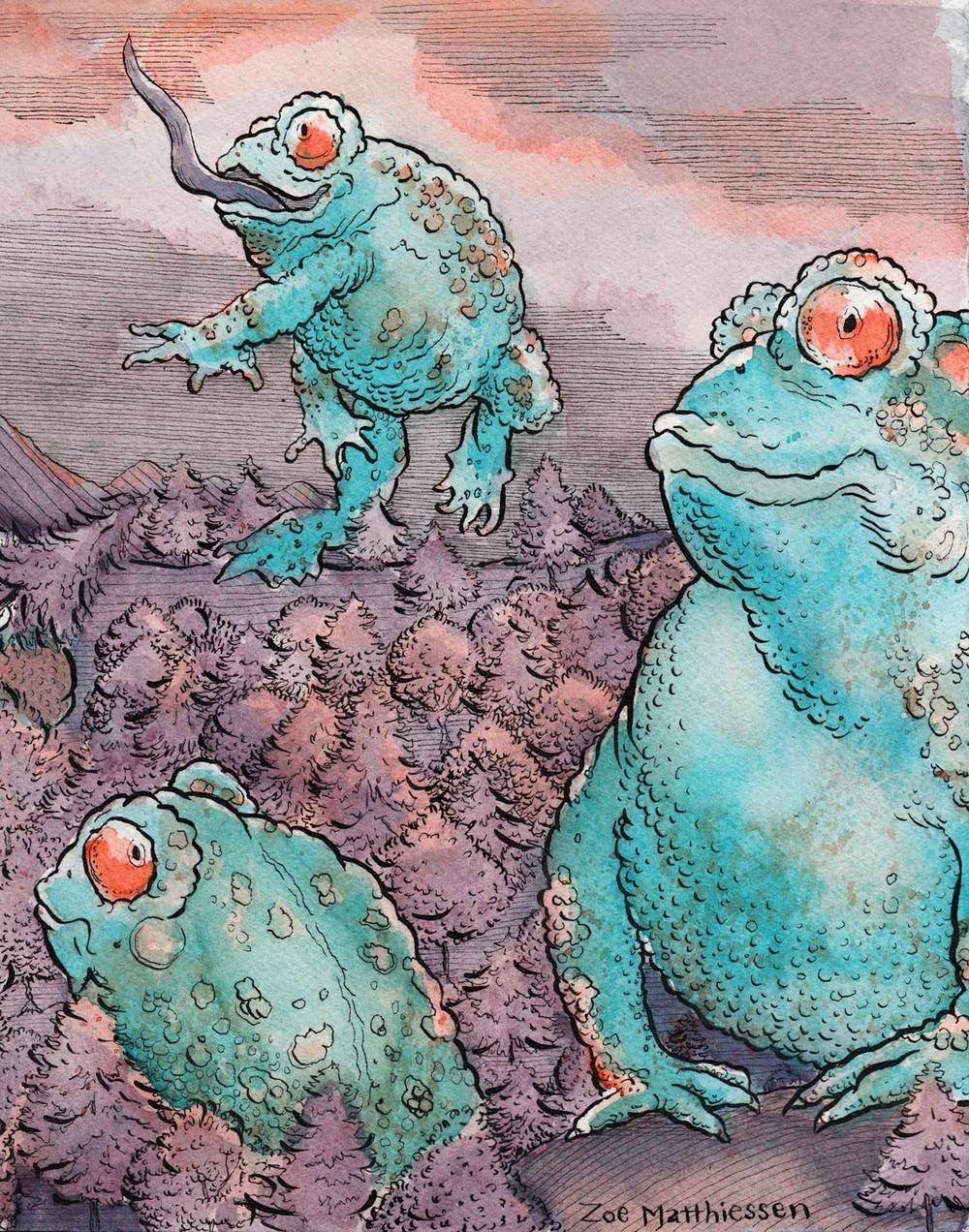 Toads of the Short Forest