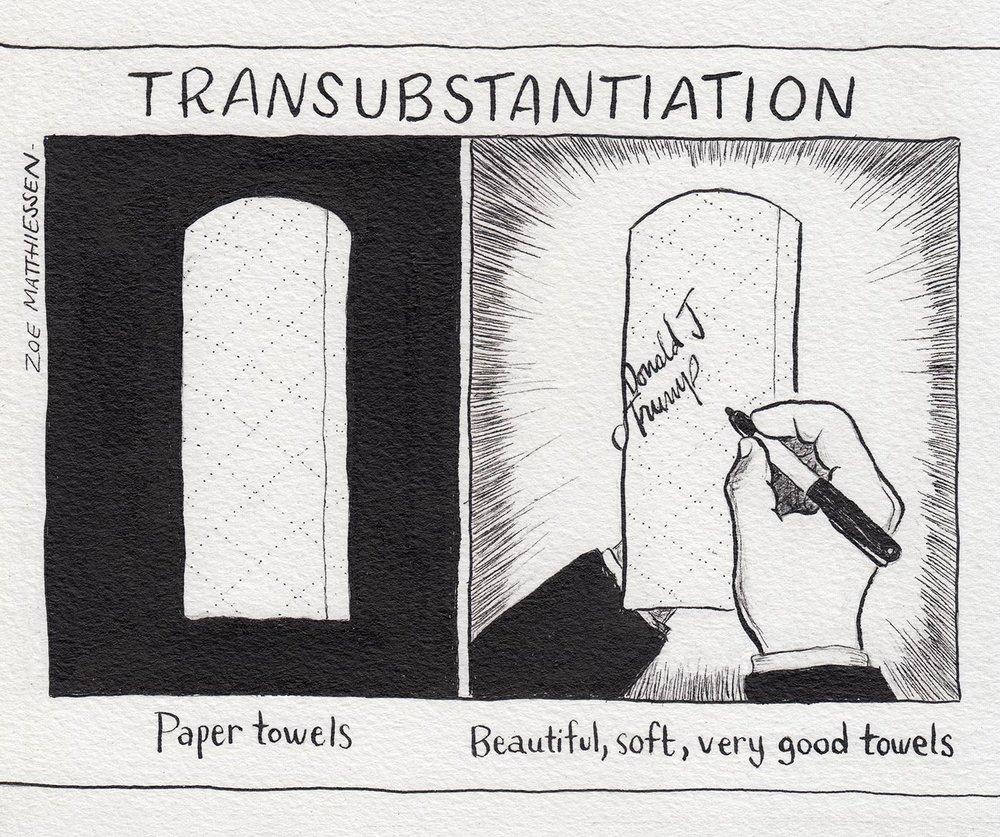 Transubstantiation, New Haven Independent