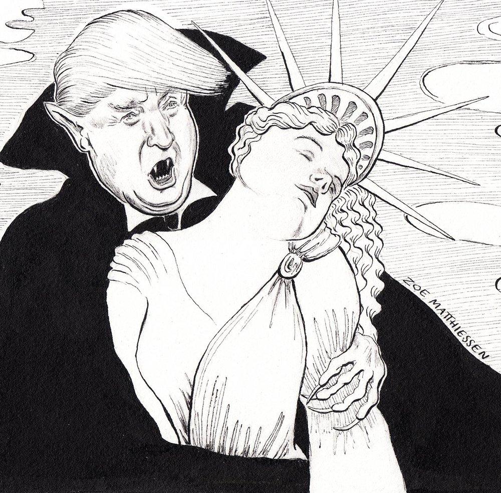 Trumpferatu, New Haven Independent