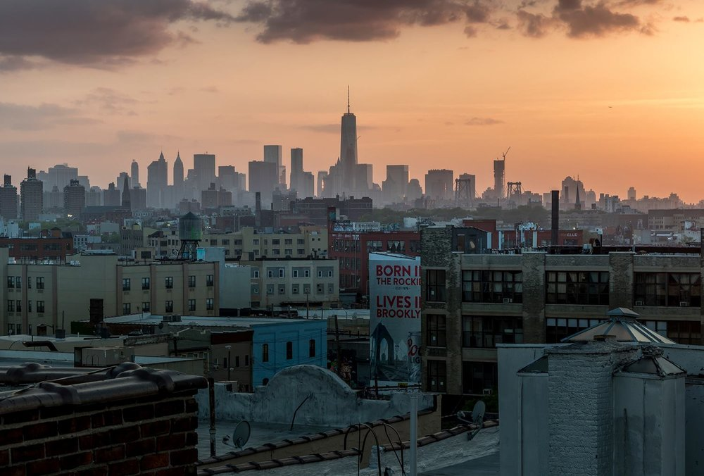 View of Bushwick from a rooftop.