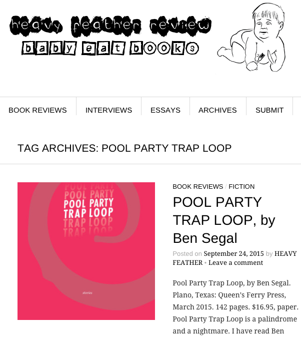 Heavy Feather Review of Pool Party Trap Loop