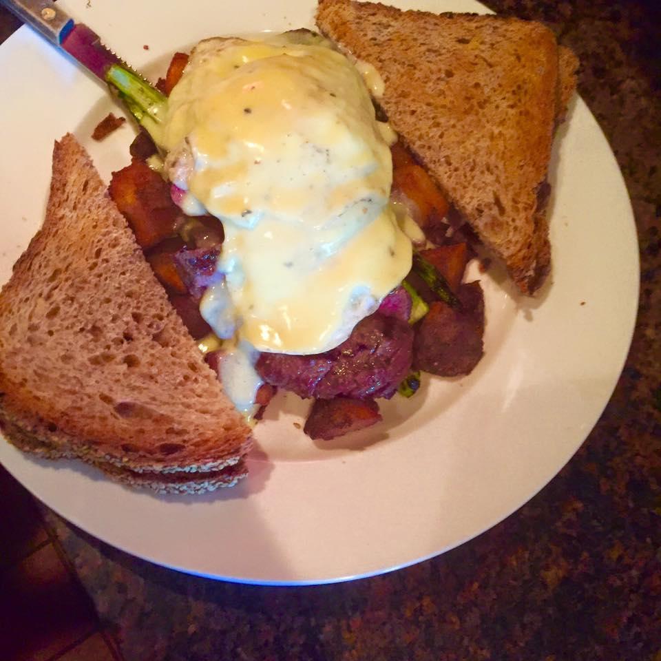 Steak n eggs brunch