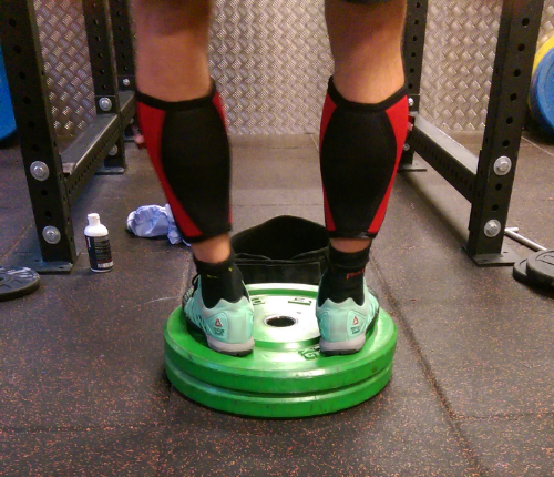I was amazed by this guy's balance mid-squat... does this look like a solid foundation?