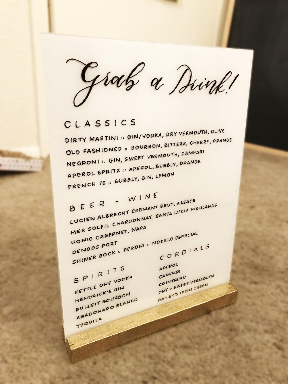 "Gold Wood Block for 9x12"" Acrylic Sheet  - (3) $4/ea"