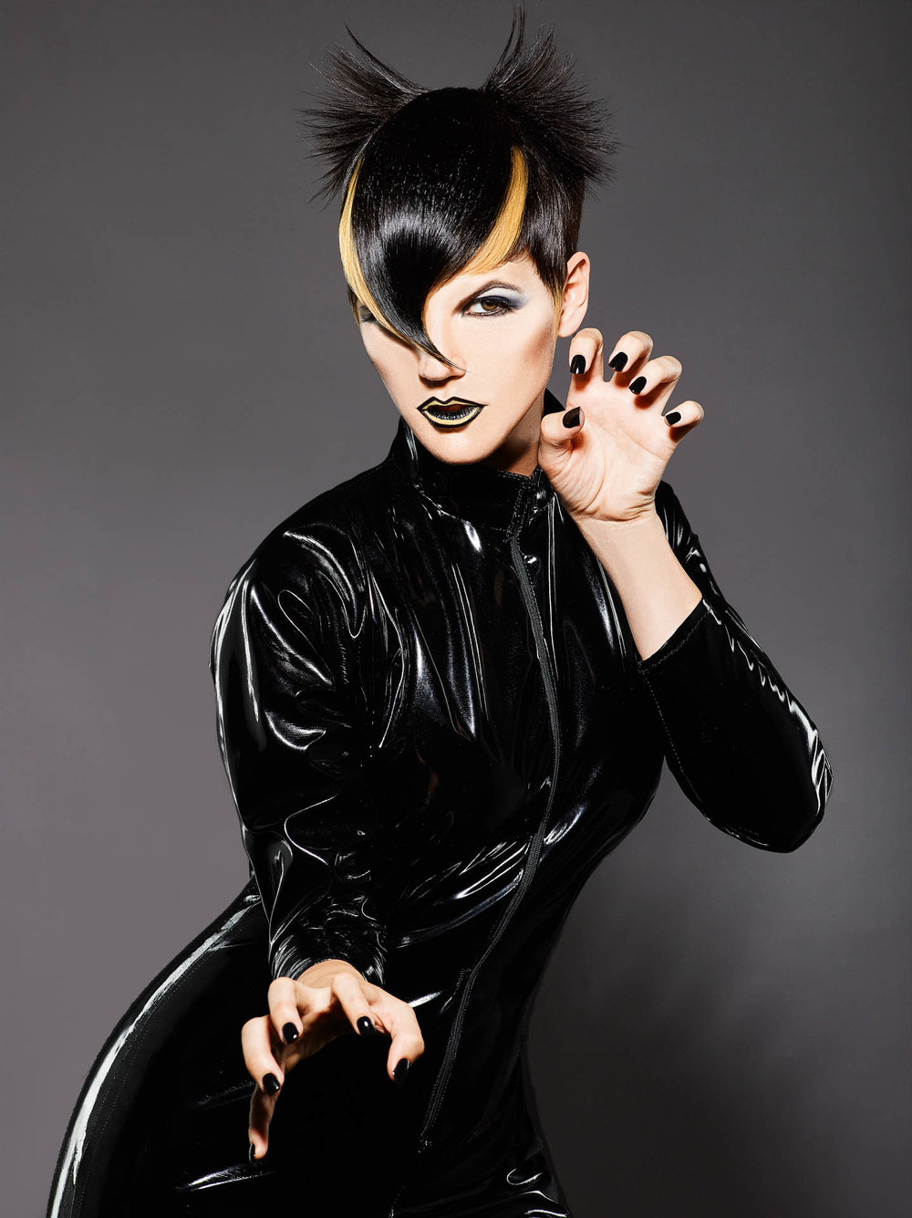 Catwoman Hair Editorial