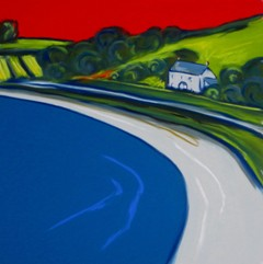 On the Road to New Grimsby (SOLD)