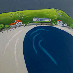 Cloudy Skies over New Grimsby - Tresco (SOLD)