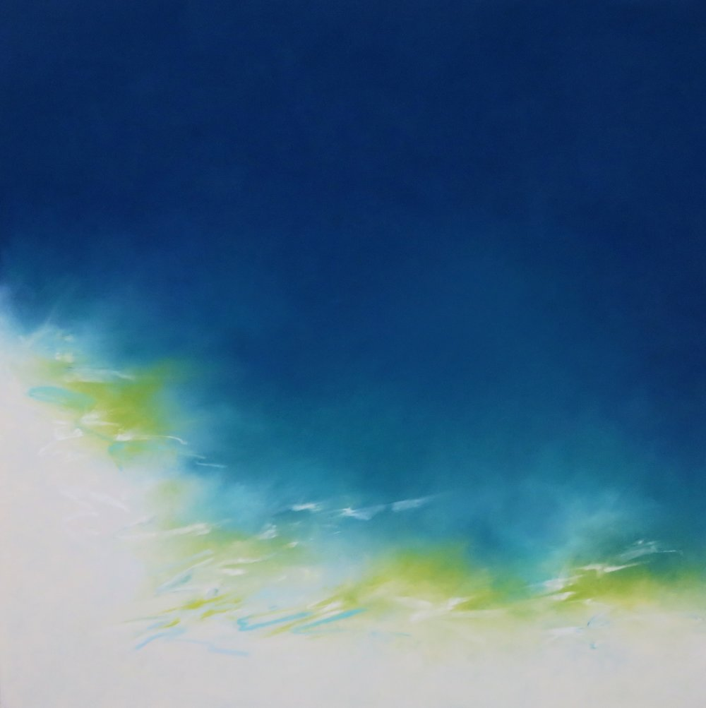 Calm Blue - (SOLD)