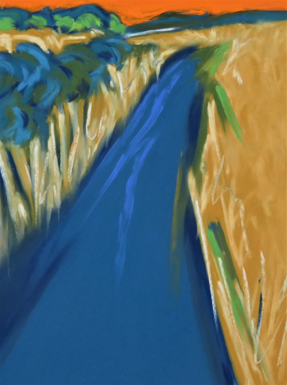 Through The Reed Beds - Slapton Ley (SOLD)