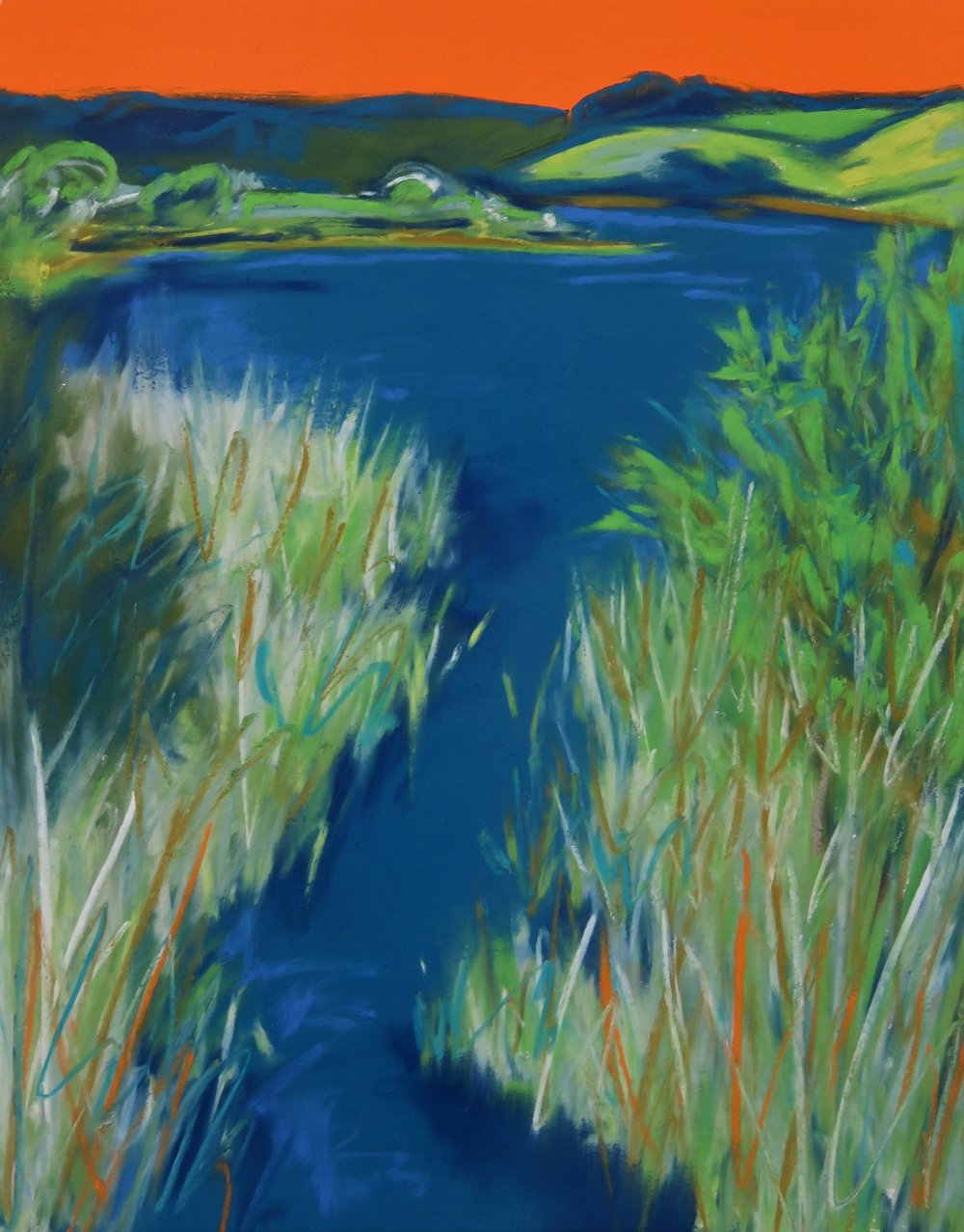 Across the Bridge - Slapton Ley (SOLD)