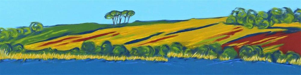Fields Over Slapton Ley (SOLD)