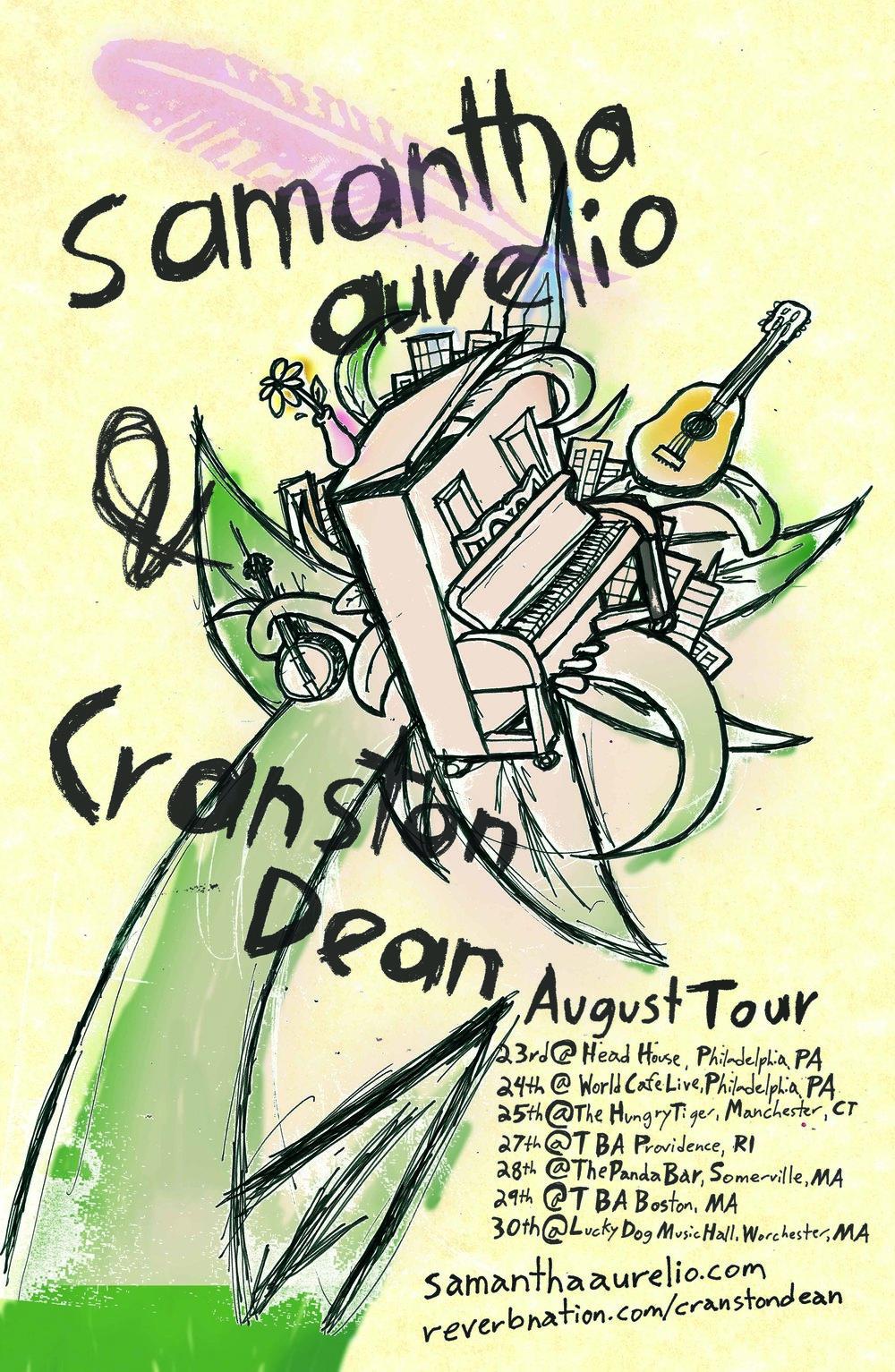 Poster for Samantha Aurelio & Cranston Dean