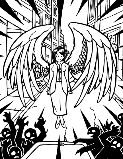 Pg 131 Woman with Wings