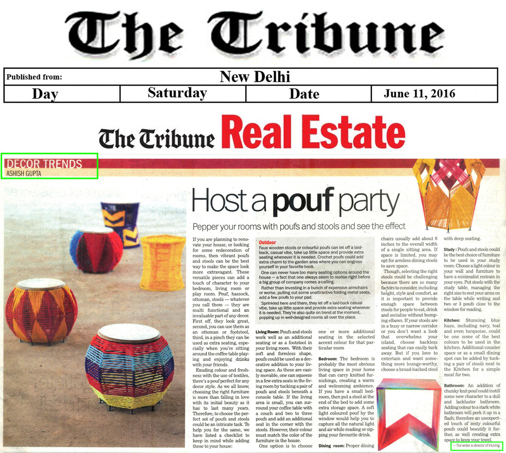 InLiving - The Tribune (Real Estate) - June 11, 2016,  Saturday.jpg