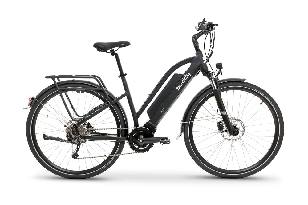 Buddy Bike C4 svart