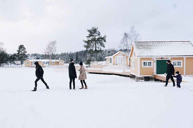 Family trip. #swedeninwinter