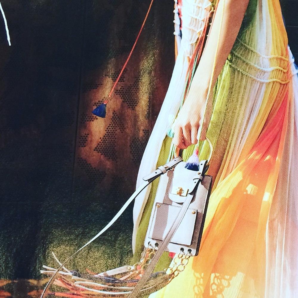 Ombre stripe dress by Chloe