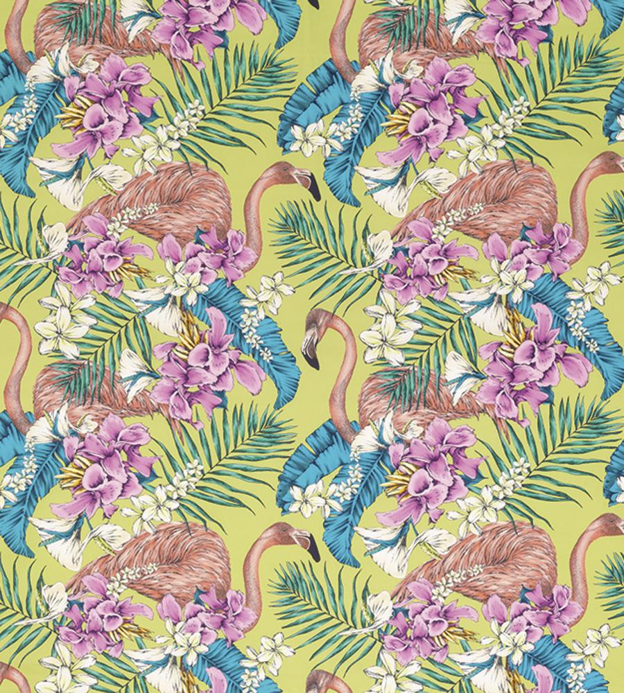 Flamingo club fabric by Matthew Williamson