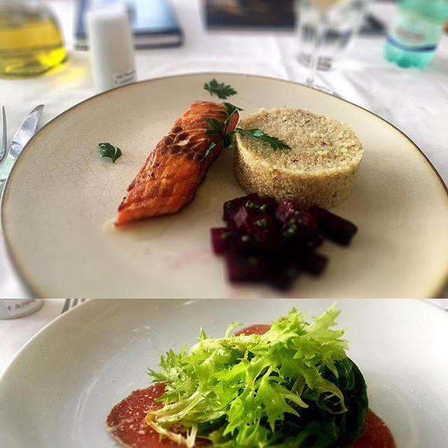 Delicada e saborosa a cozinha do Figo, na boa companhia de @carolehilton e @mariano_manzano Recomendamos!