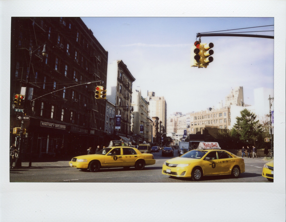 Polaroid of New York city taxis by Nick Walters.jpg