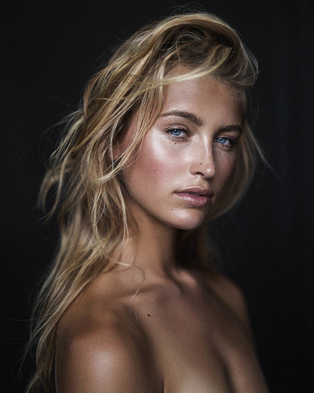 Beauty portrait of Lily Katharina shot in melbourne by photographer Nick Walters.jpg