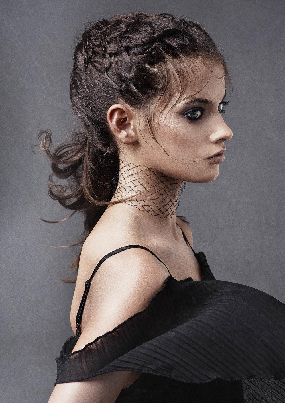 Melbourne photographer Nick Walters model for hair salon shoot2.jpg
