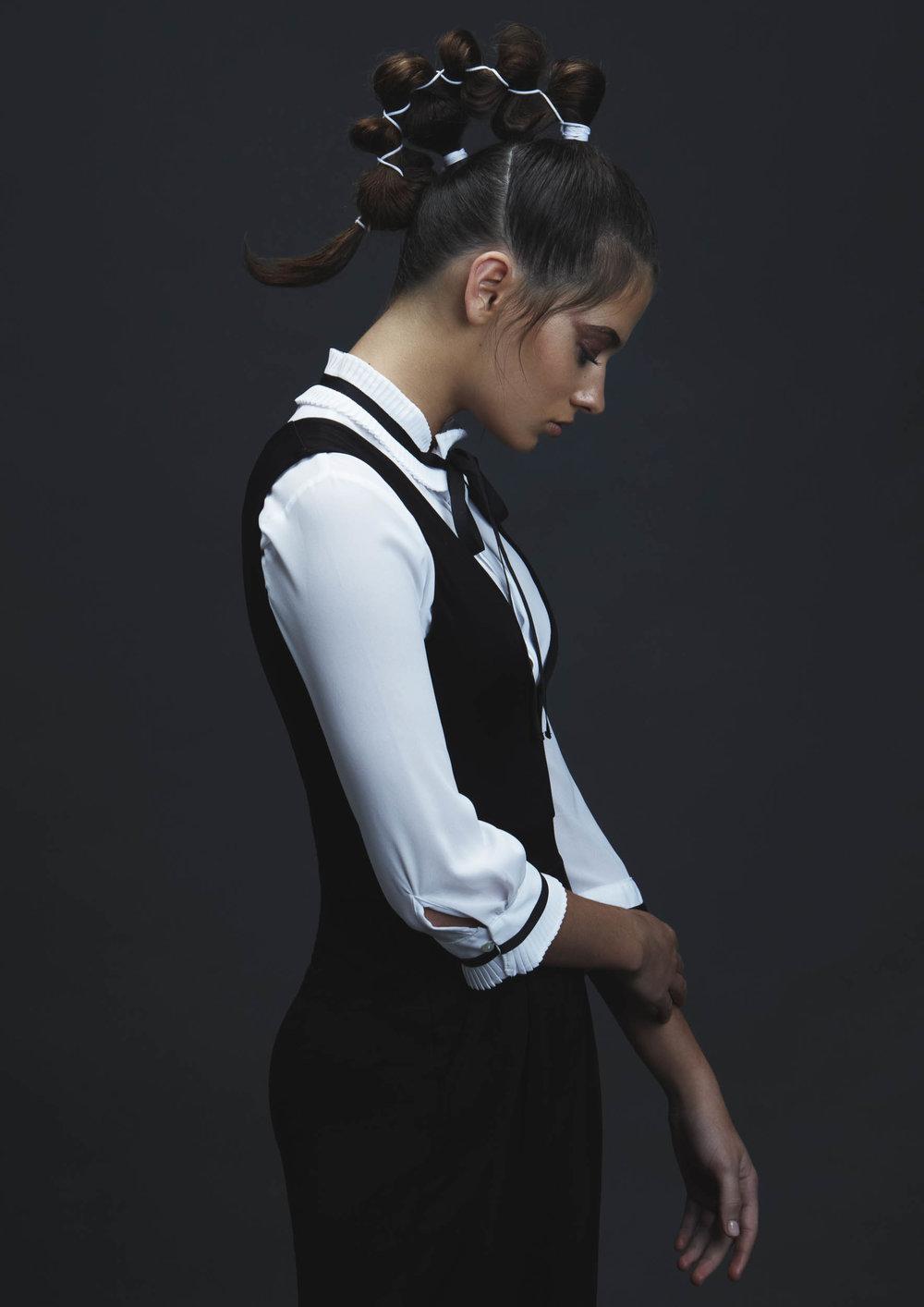 Amanda Nedza Hair Collection photo of Taya Brooks by photographer Nick Walters.jpg