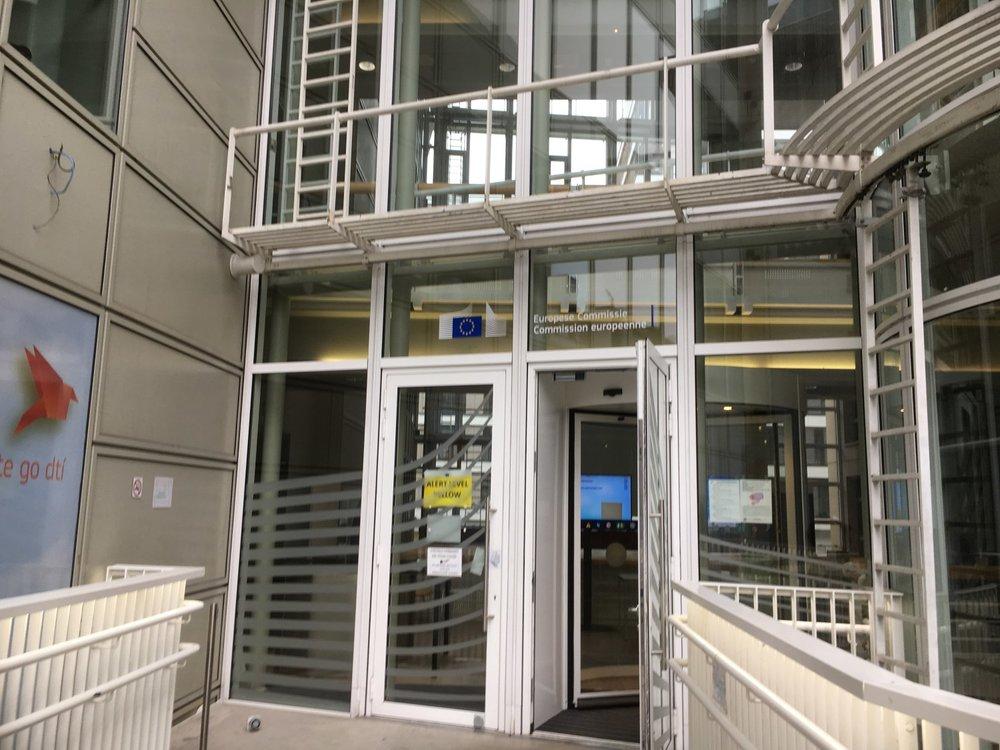 Työpaikkani Brysselissä/Euroopan komissio