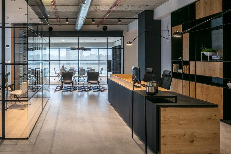 law office interior design michal zarfaty מיכל צרפתי