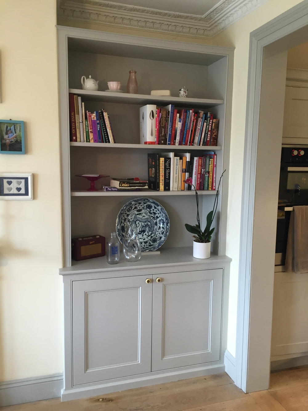 Alcove Units Oliver Hazael Bespoke Carpentry