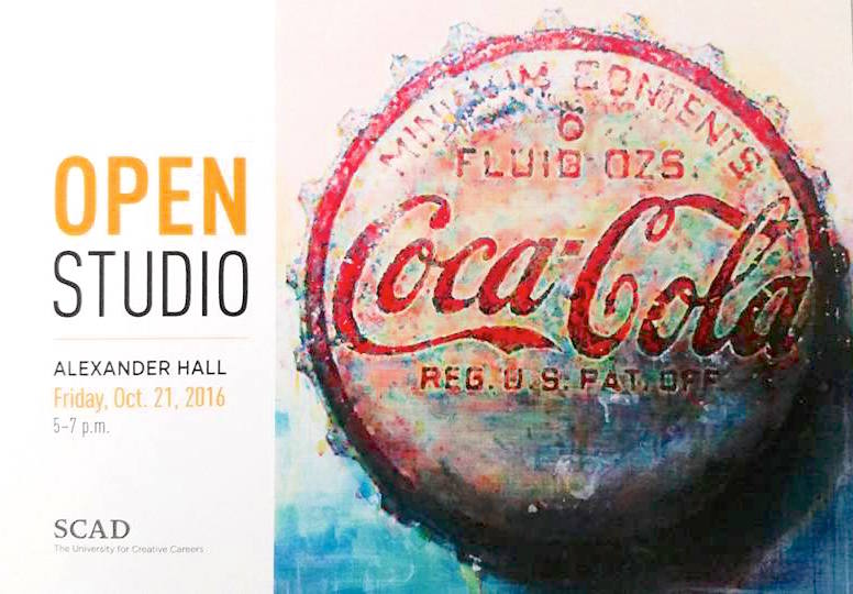 SCAD Painting Department Official Exhibition Advertisement