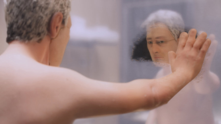 Michael Stone ponders his life in 'Anomalisa'.