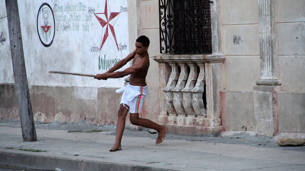 street life in Cienfuegos, Cuba