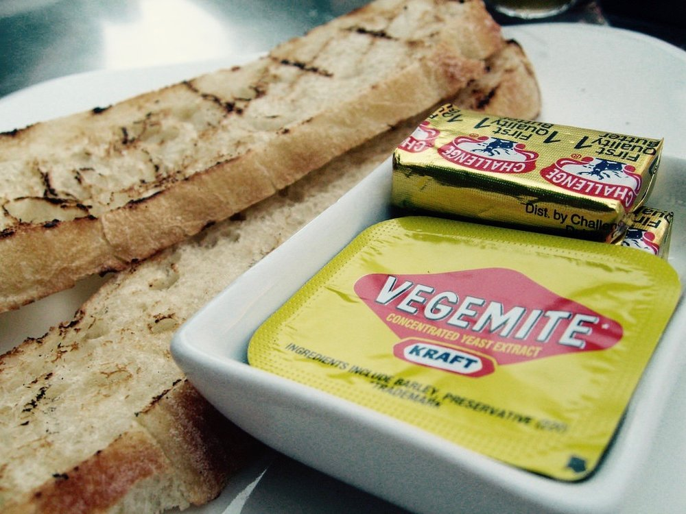 Stop by the ThinkTilt booth for a small sample of Australia, Vegemite!