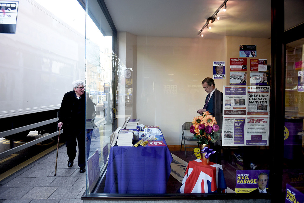 Ramsgate office, UKIP Action weekend, April 11th 2015.