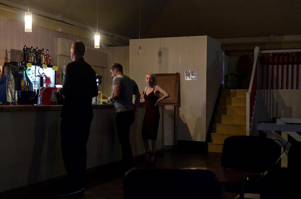 Party at the Easington Social Welfare Centre.