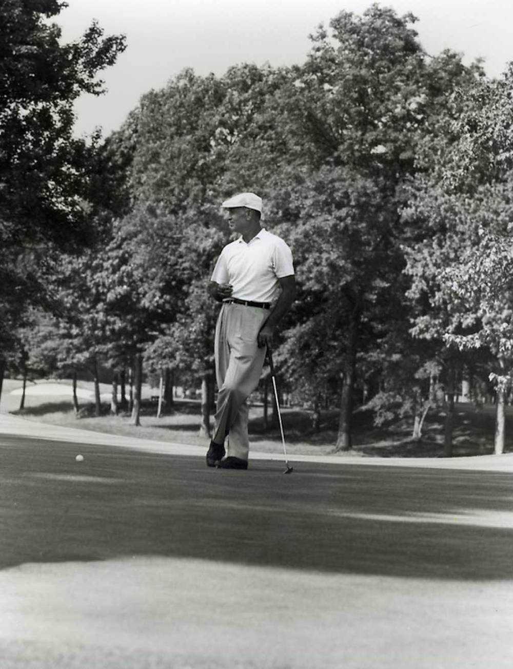 Alexander's classic of Ben Hogan at Winged Foot, 1959