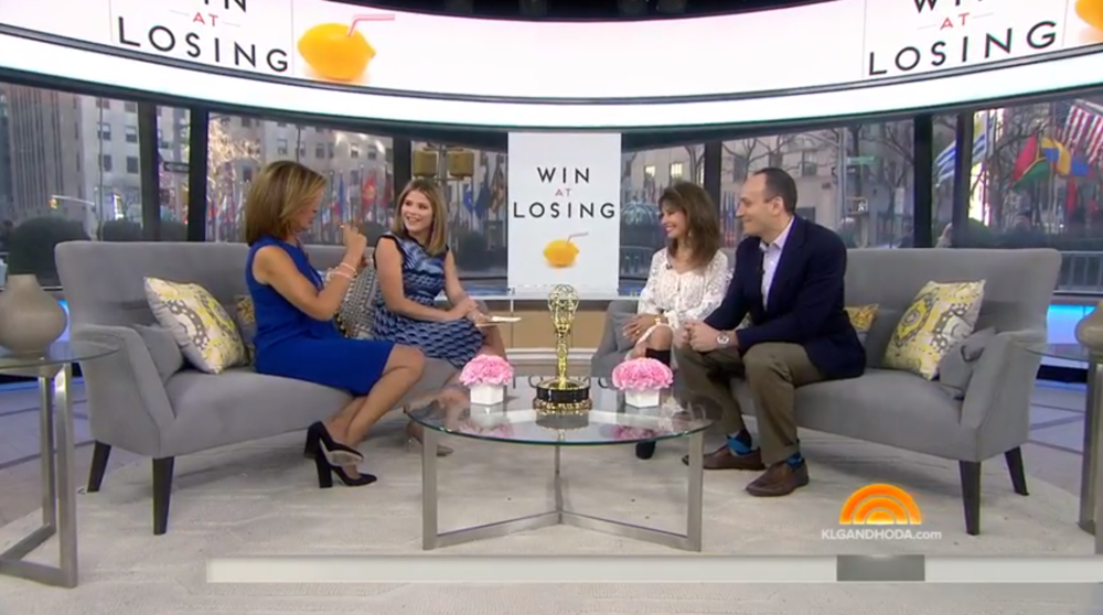 Sam and Susan Lucci talk to Hoda Kotb and Jenna Bush on the TODAY Show. January 16, 2017