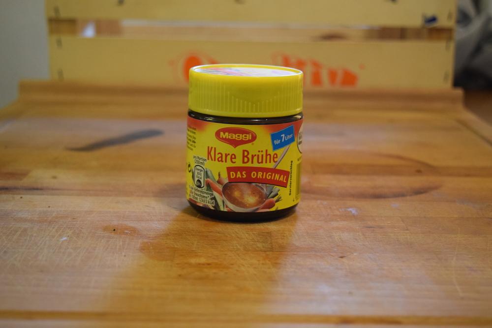 German Vegetable Broth - Normal Stock Works Perfectly