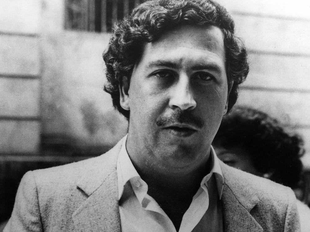 The series' basis, Mr. Escobar himself.