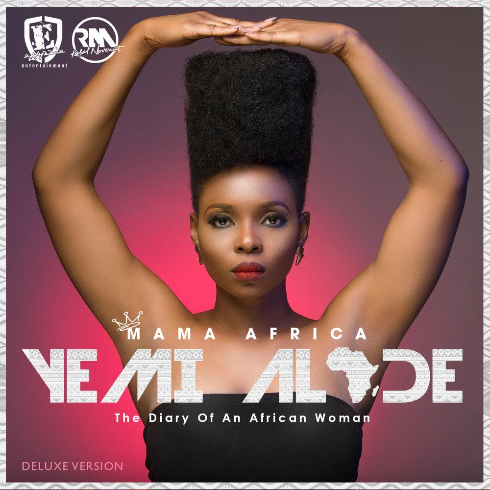"""Yemi's most recent album, """"Mama Africa"""""""