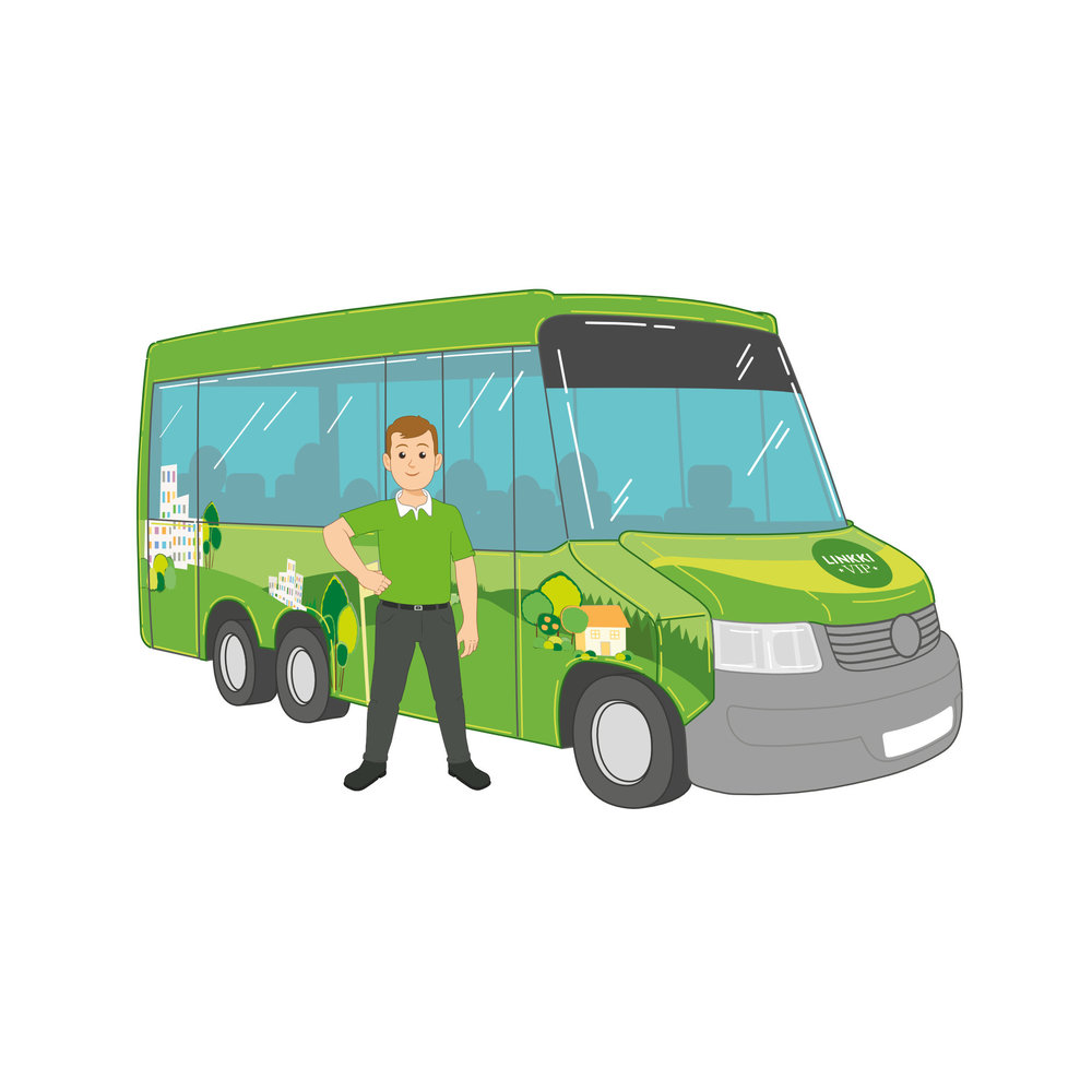 WIP-Auto ja kuljettaja