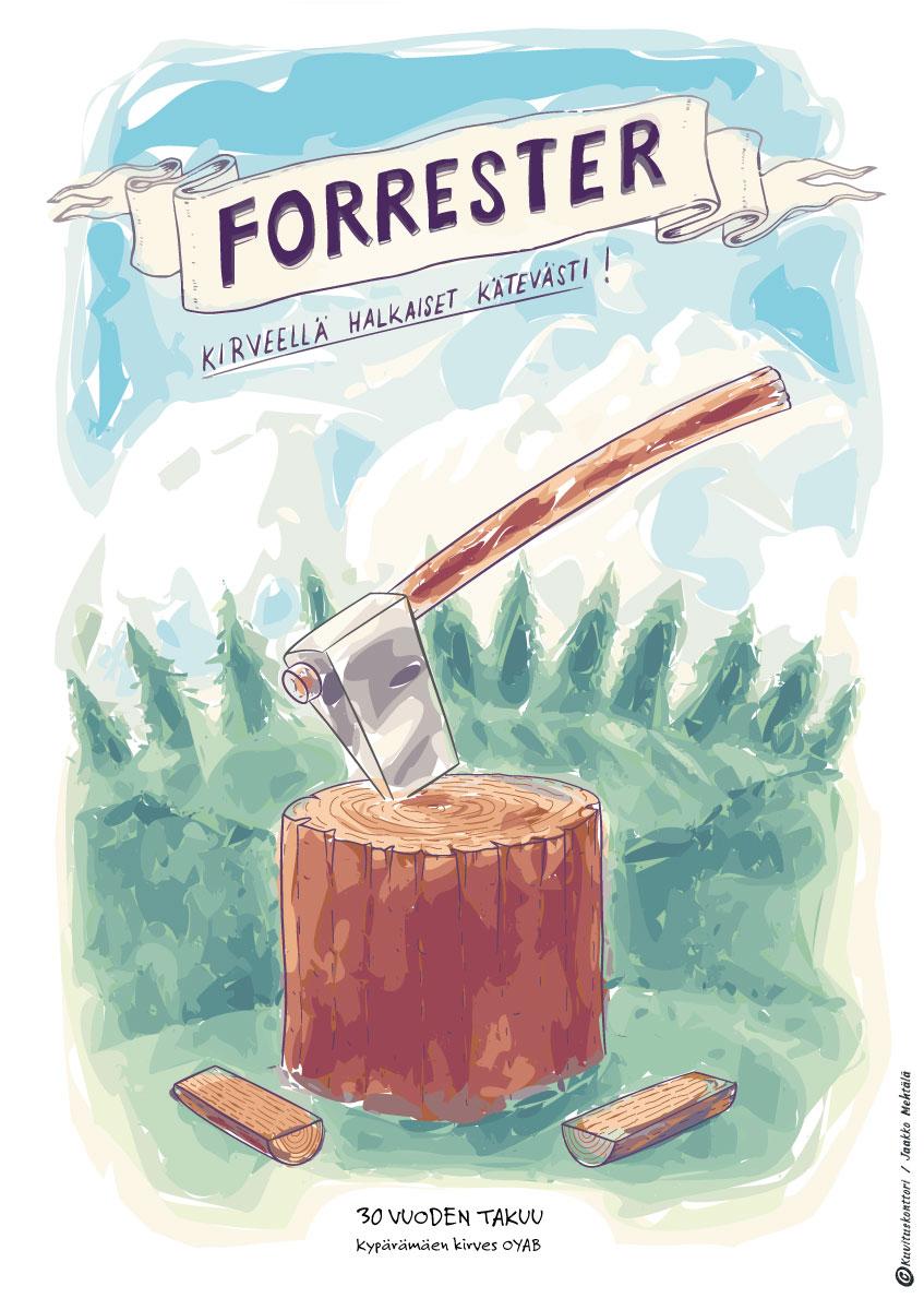 Forrester-kirveet