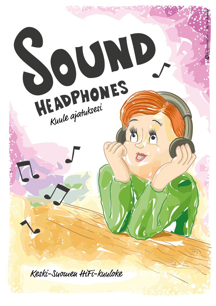 Sound headphones