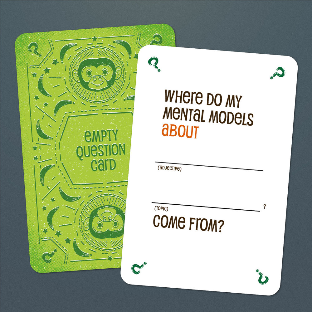 Empty question card
