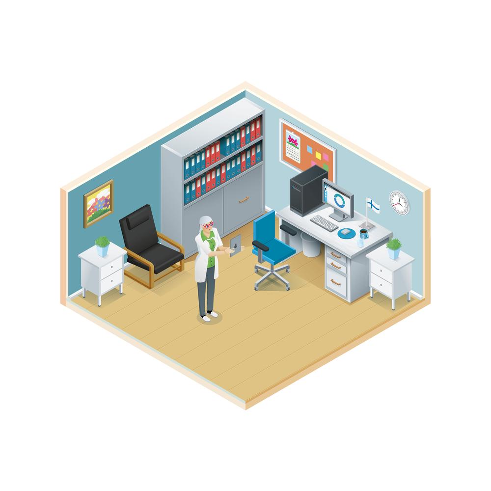 Ylilääkärin huone