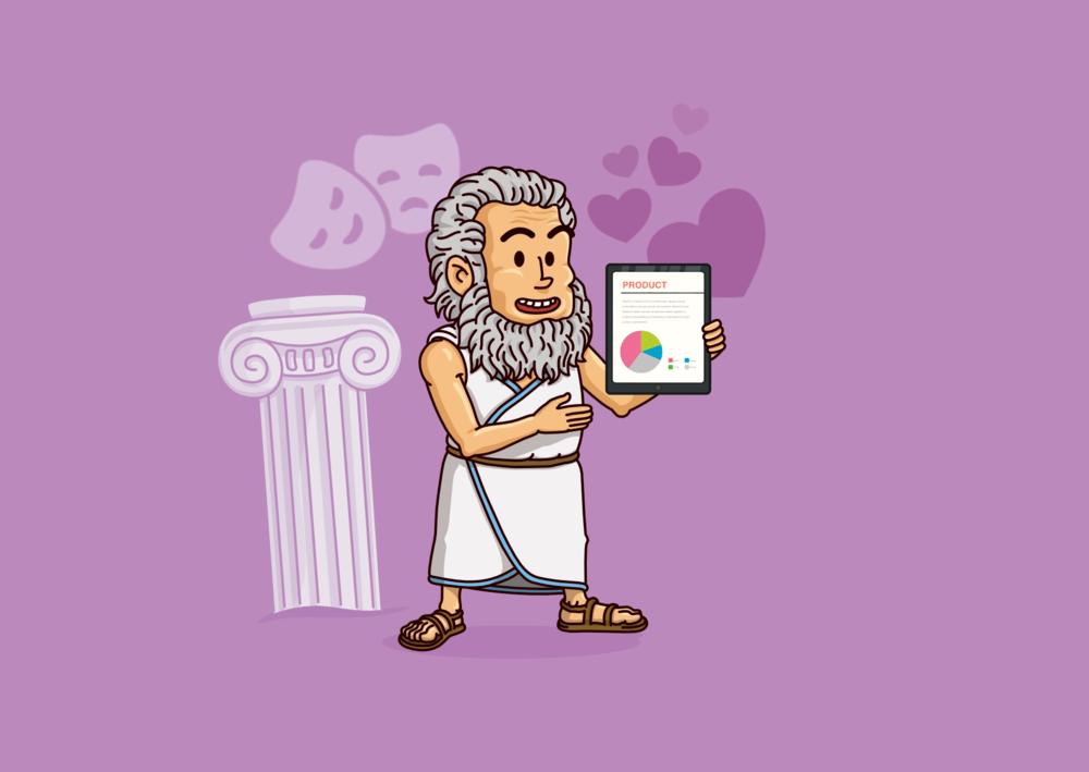 Täydellinen myyntipuhe Aristoteleen opeilla