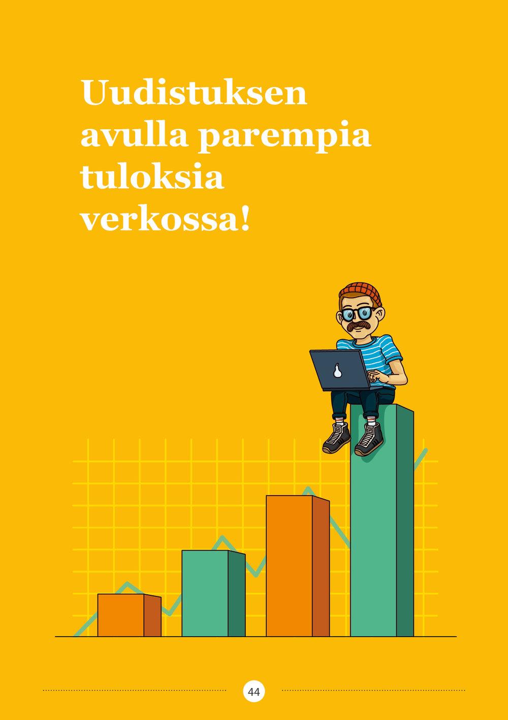 Uudistuksen avulla parempia tuloksia verkossa!